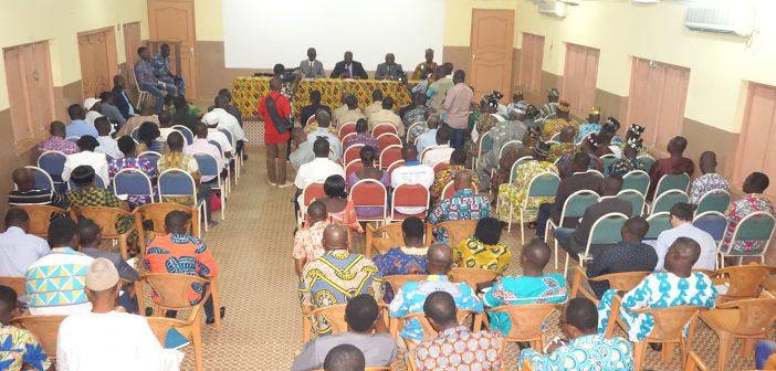 Dissémination du Rapport ITIE Togo 2014 à Tsévié