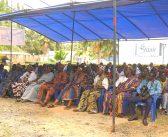 Dissémination du Rapport ITIE Togo 2014 à Assagba Kopé sur le site de l'Eau Vitale