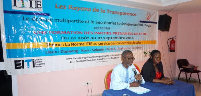 ITIE-Togo : Formation des parties prenantes à Atakpamé
