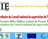 7ème session ordinaire du Conseil national de supervision de l'ITIE-Togo